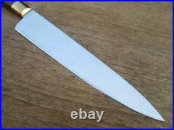 FINEST Vintage Jos. Rodgers Sheffield Chef Knife withRosewood Handle, RAZOR SHARP