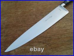 FINEST Vintage Sabatier Jeune XL Hand-Forged Stainless Chef Knife RAZOR SHARP