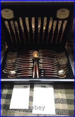 Fabulous Viners 44pc Balmoral Bronze Cutlery Canteen