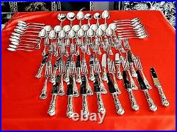 Fabulous Vintage Silver Plated Cutlery Set For 8 Persons Stanley Rogers Unused