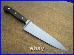FiNE Vintage WUSTHOF Germany Carbon Steel Chef Knife withRAZOR SHARP 7.5 Blade