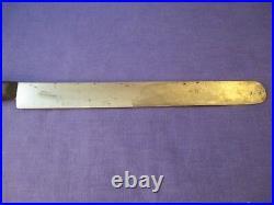 Gustav Emil Ern Carbon Steel 12 inch Semi-Flexible Round Nose Slicer Knife #2