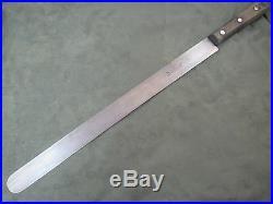 Gustav Emil Ern Flexible Carbon Steel Extra Long 14 inch Round Nose Slicer Knife