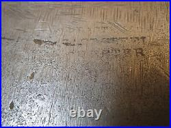 HUGE Mid 1800's WM Beatty & Son Cast Steel 18 Meat Cleaver Chester PA B3038