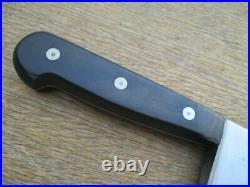 HUGE Vintage 1904 World's Fair Henckels Carbon Steel Chef Knife RAZOR SHARP