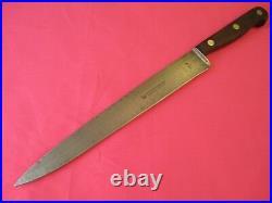 Henckels 9.25 inch Stiff Carbon Steel Slicer Knife, 106-9