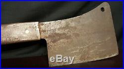 Hog Splitter OVER 2 FEET Meat Cleaver OVER 4.5 Lbs 7 Blade Antique Butcher
