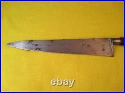 La Trompette Dufresne & Co. 11 inch Sabatier Carbon Steel Chef's Knife