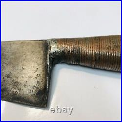 La Trompette EXP OR. U. 1878 Medaille DOR Antique Steel Knife 9.5 France C7