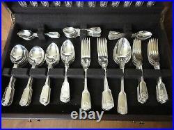 Ltd. Edition 12 Place Arthur Price VICEROY Canteen Fiddle Thread Shell Cutlery
