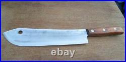 MASSIVE Antique SIMCO Buffalo Skinner/Lamb Splitter Butcher Knife RAZOR SHARP