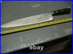 Medaille D'or La Trompette Chef's Knife Exp On Un Le 1878 M. Pouzet France