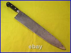 Professional Sabatier 12 inch Carbon Steel Chef Knife