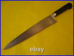 Professional Sabatier Carbon Steel 8.5 inch Chef/Utility Knife
