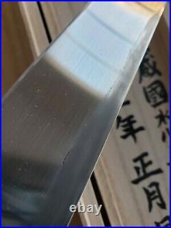 RARE Kiyoshi Kato Yoshiaki Fujiwara 315MM Yanagiba chef knife Sushi