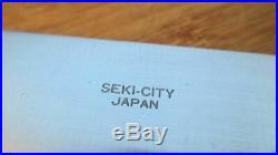 RARE Vintage Spyderco/Masahiro Sushi Chef's BIG Gyuto Chef Knife RAZOR SHARP
