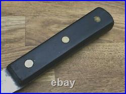 Rare Antique Sabatier Ebony Carbon Steel Razor Sharp Skinning knife Vtg Skinner