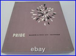 Rare Vintage Boxed Set Of David Mellor Silver Plated Cutlery Pride Walker & Hall
