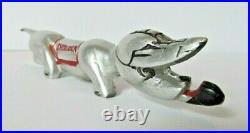 Rare Vintage Cutco Knife Spoon Fork Rest Sherlock Hound Dog Premium Giveaway