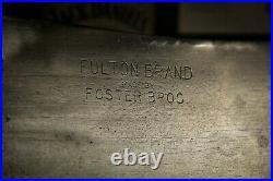 Restored Fulton Brand Foster Bros 1190 Cleaver knife 9 Blade 15 length Chef