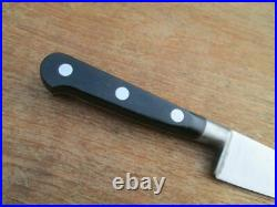 SUPERB Vintage Sabatier Small Carbon Steel Chef Knife withRAZOR SHARP 5.5 Blade