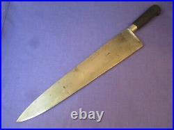 Sabatier Acier Fondu 14 inch Carbon Steel Chef Knife