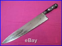 Sabatier Four Star Elephant Carbon Steel 10.5 inch Chef Knife