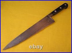 Sabatier Four Star Elephant Carbon Steel 8.75 inch Chef Knife