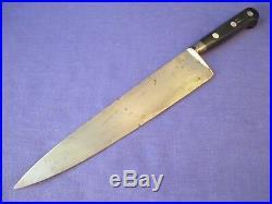 Sabatier Four Star Elephant Carbon Steel 9.75 inch Chef Knife