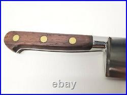 Sabatier Jeune Carbon Steel Chef Knife-Cordon Bleu-9-1/2-Rosewood Handle