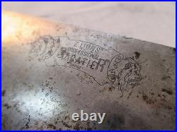 Sabatier Two Lions Professional 12 inch Carbon Steel Chef Knife