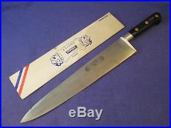 Sabatier Two Lions Professional 12 inch Carbon Steel Chef Knife withSheath #2
