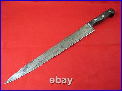 Sword & Shield Carbon Steel 12 inch Slicing/Carving Knife
