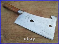 ULTRA-RARE Antique Foster Bros. #1-1/2 Chef/Butcher's Meat Cleaver RAZOR SHARP
