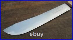 UNUSED Vintage 1951 EKCO Korean War-Era Carbon Steel US Army Chef Butcher Knife