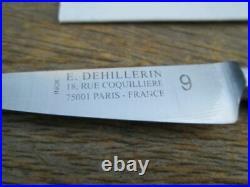 UNUSED Vintage Sabatier/DeHillerin Chef's STAINLESS Nogent Paring Knife RARE