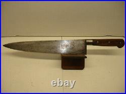 VINTAGE pre SABATIER Carbon Steel Chefs Knife. ROMO. France. 11