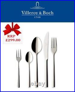 Villeroy & Boch Piemont 30 Piece Cutlery Gift Set, Quality 18/10 Stainless Steel