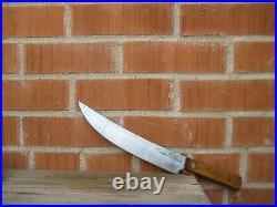 Vintage 10 Blade FOSTER BROS. 1964 US Military Carbon Cimeter Slicing Knife USA