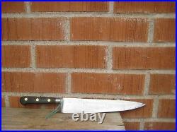 Vintage 10 Blade SABATIER TRUMPET XL Carbon Chef Knife FRANCE
