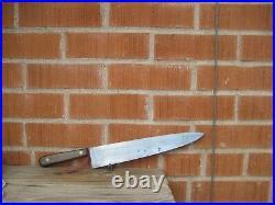 Vintage 12 Blade LAMSON & GOODNOW 3XL Carbon Chef Knife USA
