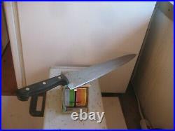 Vintage 14 Blade GUSTAV EMIL ERN Huge 5XL Carbon Chef Knife GERMANY