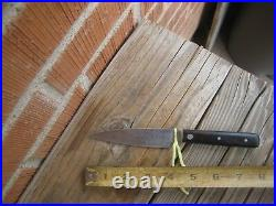 Vintage 4 Blade JOHN RUSSELL Green River Works Carbon Paring Knife USA