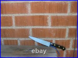 Vintage 5 1/2 Blade SABATIER K Acier Forged Small Carbon Chef Knife FRANCE