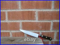 Vintage 5 3/4 Blade SABATIER Chef Au Ritz Small Carbon Chef Knife FRANCE