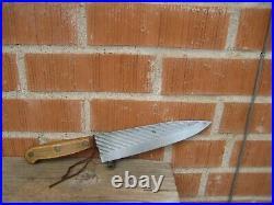 Vintage 8 Blade CASE XX 400-8 1970s Fine Carbon Chef Knife USA