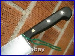 Vintage 8 Blade ED. WUSTHOF Fine Carbon Chef Knife GERMANY
