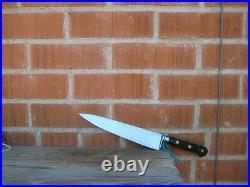 Vintage 9 Blade SABATIER Chef Au Ritz Large Carbon Chef Knife FRANCE