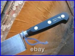 Vintage 9 Blade SABATIER Fine Large Carbon Chef Knife FRANCE