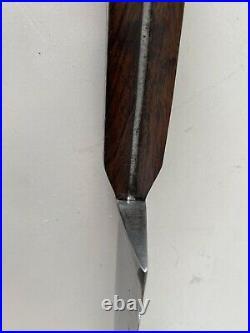 Vintage/Antique Large Butcher/Chef Knife High Carbon Steel 12Blade 17+Length